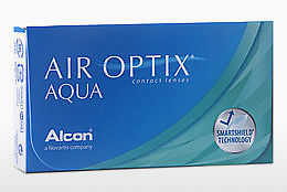 Kontaktní čočky Alcon AIR OPTIX AQUA (AIR OPTIX AQUA AOA6)