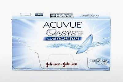 Kontaktní čočky Johnson & Johnson ACUVUE ADVANCE for ASTIGMATISM (ACUVUE ADVANCE for ASTIGMATISM AGT-6P-REV)