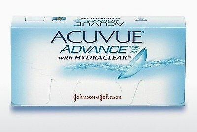Kontaktní čočky Johnson & Johnson ACUVUE ADVANCE with HYDRACLEAR AVG-6P-REV