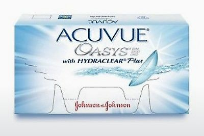 Kontaktní čočky Johnson & Johnson ACUVUE OASYS with HYDRACLEAR Plus PH-6P-REV