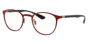 Ray-Ban RX6355 2922 BRUSHED BORDO'