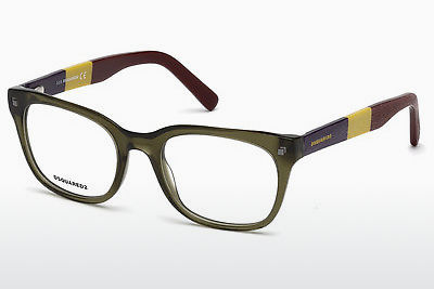 Brýle Dsquared DQ5215 093 - Zelené, Bright, Shiny
