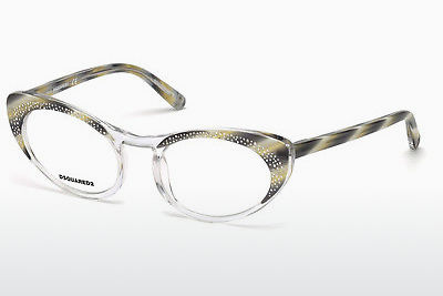 Brýle Dsquared DQ5224 060 - Rohovinové, Horn