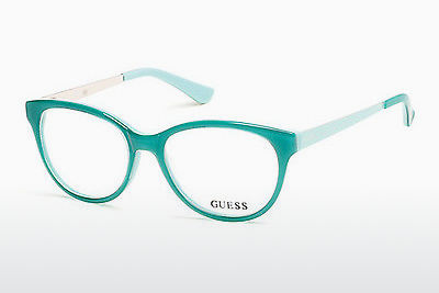 Brýle Guess GU2539 093 - Zelené, Bright, Shiny