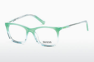 Brýle Guess GU9164 093 - Zelené, Bright, Shiny