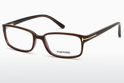 Brýle Tom Ford FT5209 047 - Hnědé, Bright