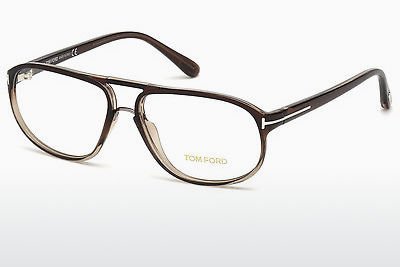 Brýle Tom Ford FT5296 050 - Hnědé, Dark