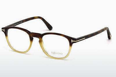 Brýle Tom Ford FT5389 053 - Havana, Yellow, Blond, Brown