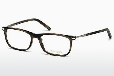 Brýle Tom Ford FT5398 061 - Zelené, Horn