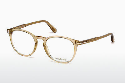 Brýle Tom Ford FT5401 045 - Hnědé, Bright, Shiny