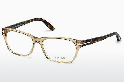Brýle Tom Ford FT5405 045 - Hnědé, Bright, Shiny