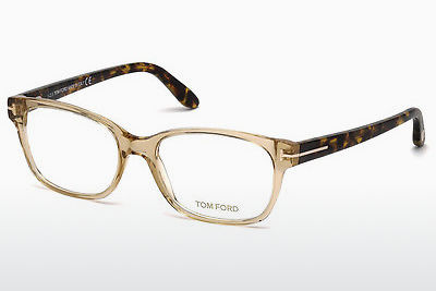 Brýle Tom Ford FT5406 045 - Hnědé, Bright, Shiny