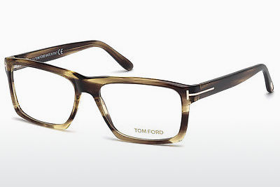 Brýle Tom Ford FT5434 048 - Hnědé, Dark, Shiny