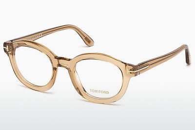 Brýle Tom Ford FT5460 045 - Hnědé, Bright, Shiny