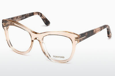 Brýle Tom Ford FT5463 045 - Hnědé, Bright, Shiny