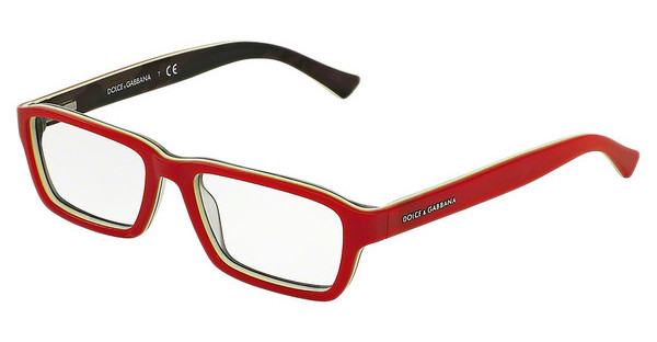 Dolce & Gabbana DG3230 2951 RED/FLUO YELLOW/MT CAMO