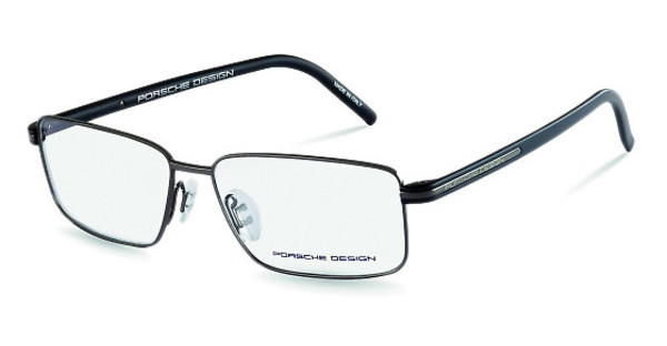 Porsche Design P8127 E dark gun, black mat