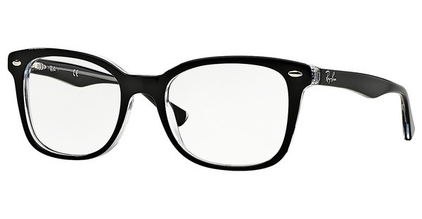Ray-Ban RX5285 2034 TOP BLACK ON TRANSPARENT