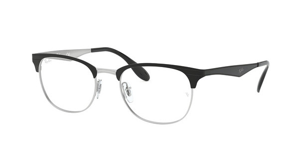 Ray-Ban RX6346 2861 TOP BLACK ON SILVER