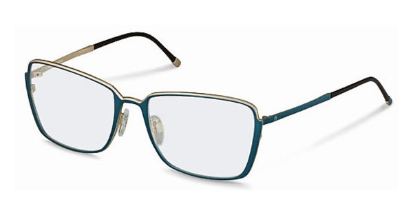 Rodenstock R2571 B dark blue, light gold