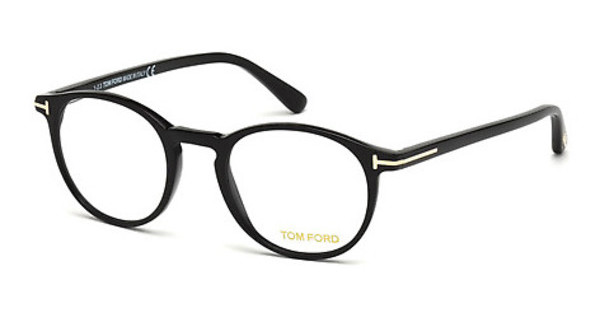 Tom Ford   FT5294 001 schwarz glanz