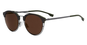 Boss BOSS 0784/S 97C/LC BROWN GOLD ARMATT GREY (BROWN GOLD AR)