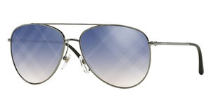 Burberry BE3072 1003B2 CLEAR GRAD BLUE MIRR VIOLETGUNMETAL