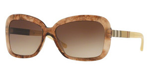 Burberry BE4173 361213 BROWN GRADIENTBROWN GRADIENT STRIPED