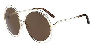 Chloé CE114S 743 GOLD/TRANSPARENT BROWN