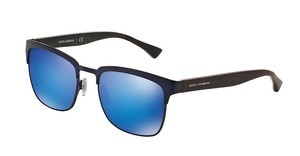 Dolce & Gabbana DG2148 128025 GREEN MIRROR LIGHT BLUEMATTE DARK BLUE