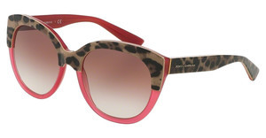 Dolce & Gabbana DG4259 29498D PINK GRADIENTTOP ANIMALIER ON RASPBERRY