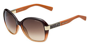 Jimmy Choo ALANA/S EXN/D8 BROWN DSRUST ORNG (BROWN DS)