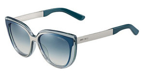 Jimmy Choo CINDY/S 1Q3/56 BLAUAQ PD PTR (BLAU)