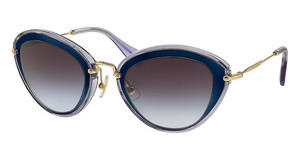 Miu Miu MU 51RS UFE2F0 LIGHT VIOLET GRAD DARK GREYBLUE/MIRROR BLUE