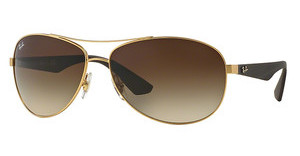 Ray-Ban RB3526 112/13 BROWN GRADIENTMATTE GOLD
