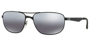 Ray-Ban RB3528 006/82 GREY MIRROR SILVER GRAD POLARMATTE BLACK