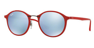 Ray-Ban RB4242 764/30 GREEN MIRROR SILVERSHINY RED