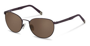 Rodenstock R7401 C sun protect - brown - 88%dark gun/plum