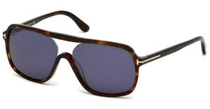 Tom Ford FT0442 52V blauhavanna dunkel