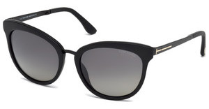 Tom Ford FT0461 02D grau polarisierendschwarz matt