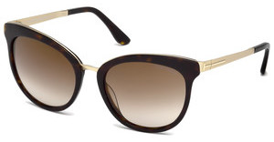 Tom Ford FT0461 52G braun verspiegelthavanna dunkel