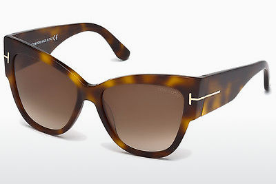 Sluneční brýle Tom Ford Anoushka (FT0371 53F) - Havana, Yellow, Blond, Brown
