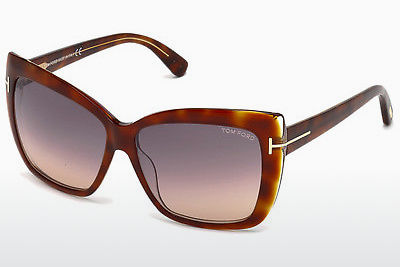 Sluneční brýle Tom Ford Irina (FT0390 53F) - Havana, Yellow, Blond, Brown