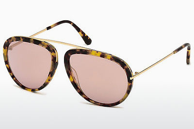 Sluneční brýle Tom Ford Stacy (FT0452 53Z) - Havana, Yellow, Blond, Brown