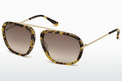 Sluneční brýle Tom Ford Johnson (FT0453 53F) - Havana, Yellow, Blond, Brown