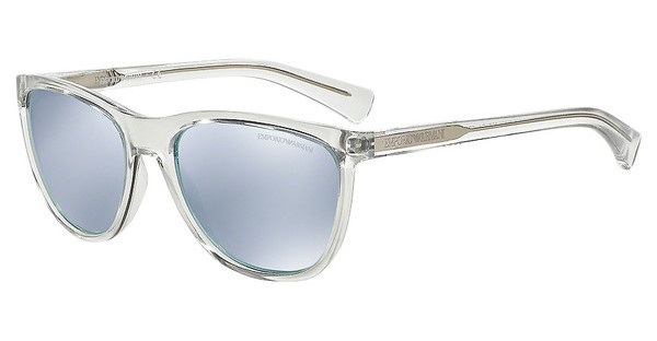 Emporio Armani EA4053 53716J BLUE MIRROR WHITETRANSPARENT