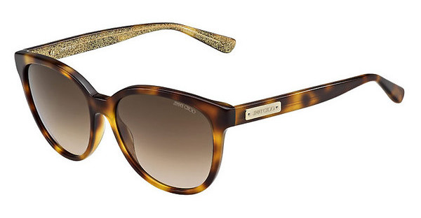 Jimmy Choo LUCIA/S EHO/JD BROWN SFHV GLTTGD