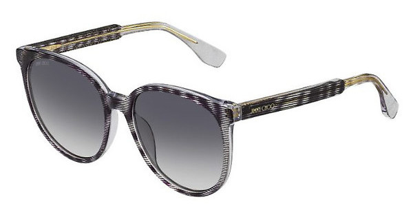 Jimmy Choo REECE/S LWZ/VK GREY FLASHSTRGLTTBK (GREY FLASH)