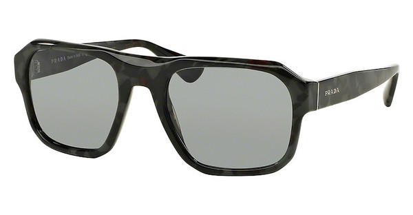 Prada PR 02SS UEM3C2 DARK GREYSPOTTED BROWN GREEN