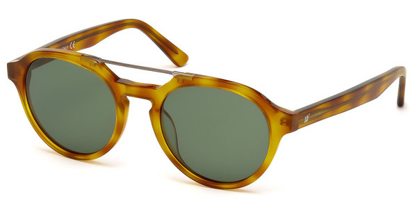 Web Eyewear WE0155 53N grünhavanna blond